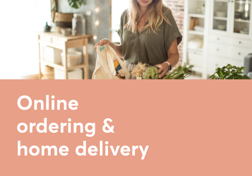 Online Ordering & Home Delivery