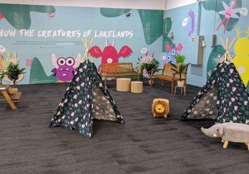 Curious Creatures pop-up kids zone