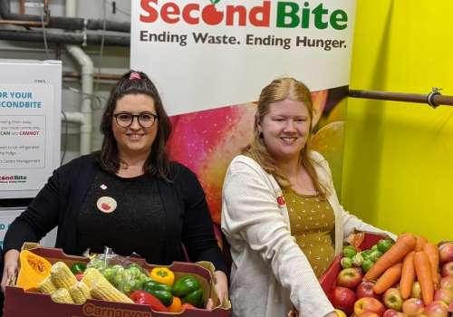 SecondBite partnership