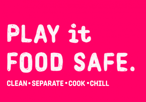 Play it food safe