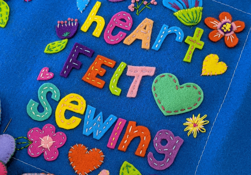 Heartfelt Sewing at the Lakelands Library
