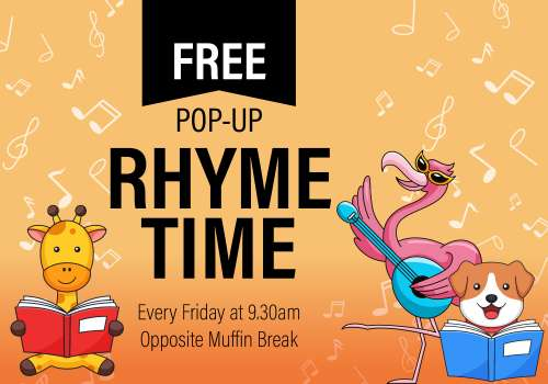 Pop-up Rhyme Time