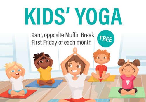 Lakelands' kids yoga