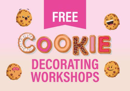 Cookie decorating workshops